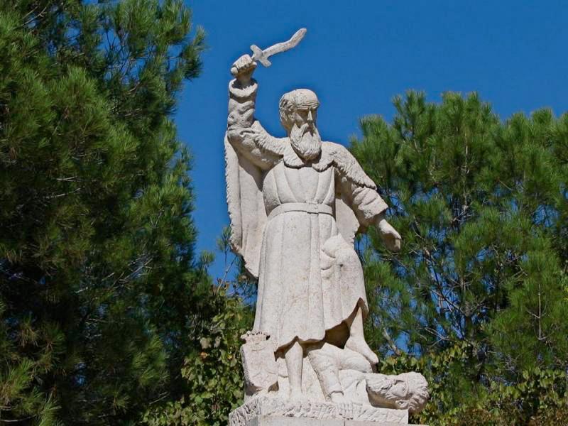 The Prophet Elijah on Mount Carmel
